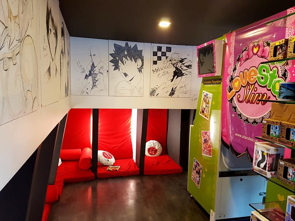 Manga Café V2 – 漫画喫茶 – ParisVersion