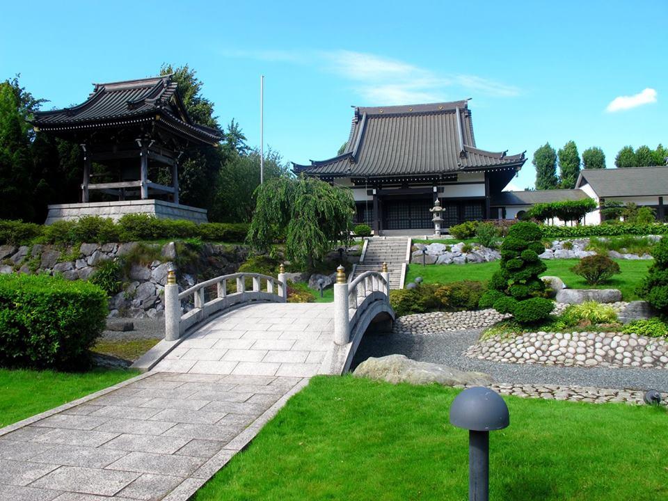 EKŌ-House : jardin japonais à Düsseldorf(Allemagne)