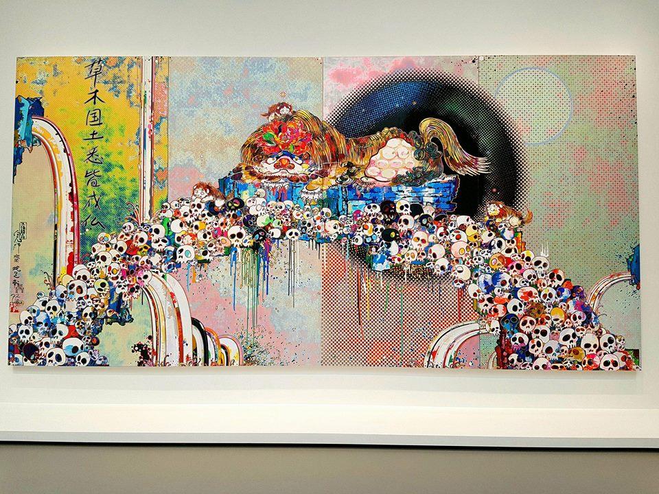 Takashi Murakami à la Fondation LouisVuitton