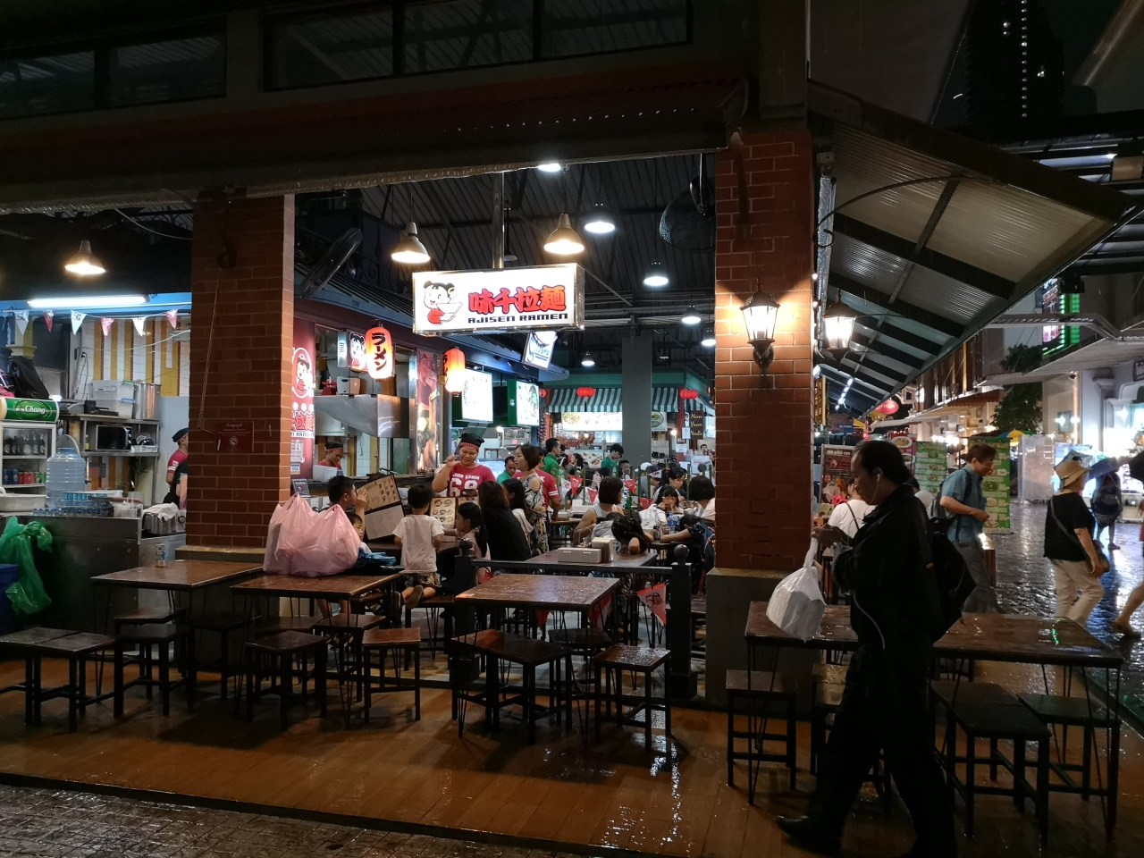 Un ramen à Bangkok : Ajisen Ramen味千ラーメン