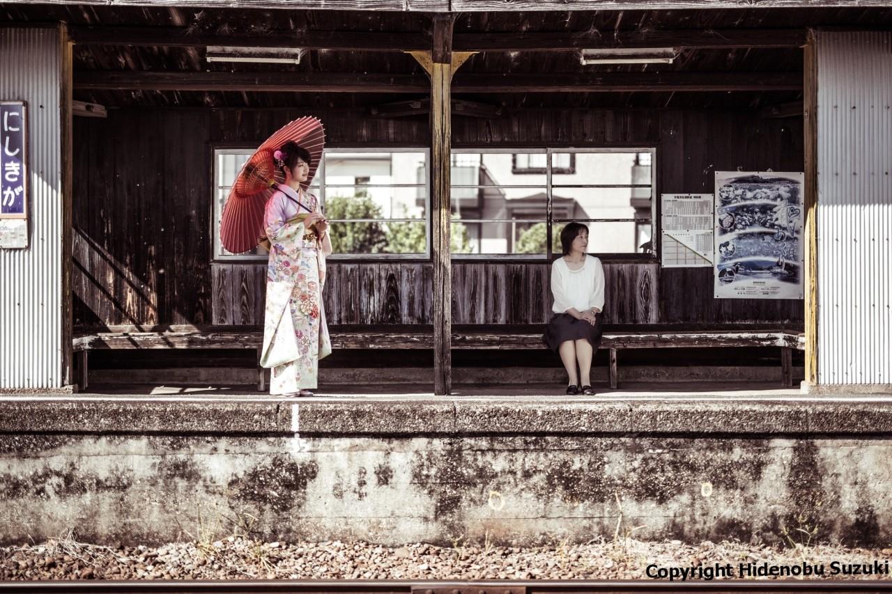 Vernissage 'Couleurs du Japon' par HidenobuSuzuki