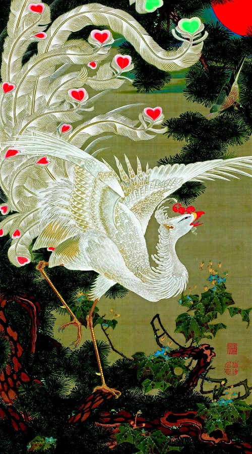 7. White phoenix and old pine