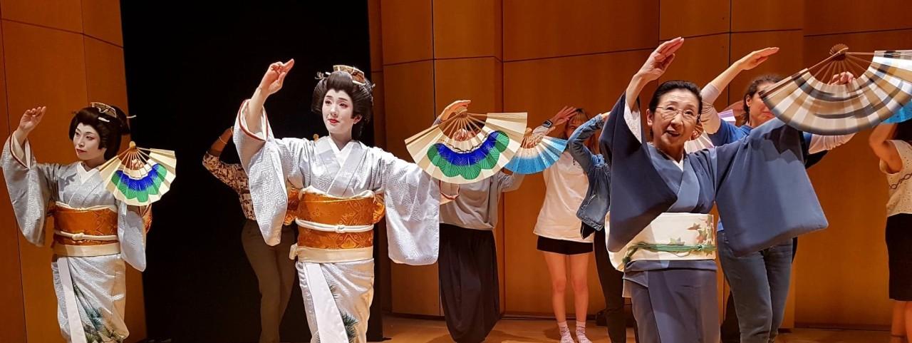 Nihon Buyō de l'écoleIchiyama