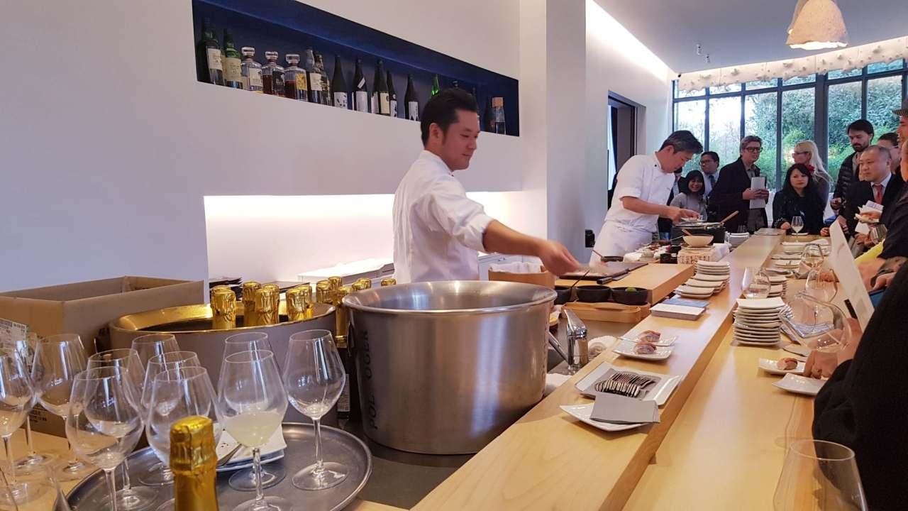Kagoshima Exquise #2 ~ Wagyu, sériole, thé bio, vinaigre,…