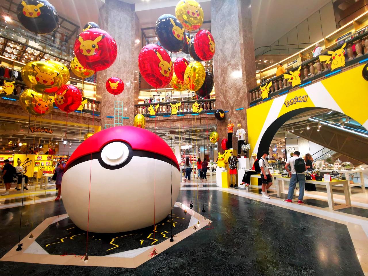 Les 25 ans de Pokemon aux GaleriesLafayette