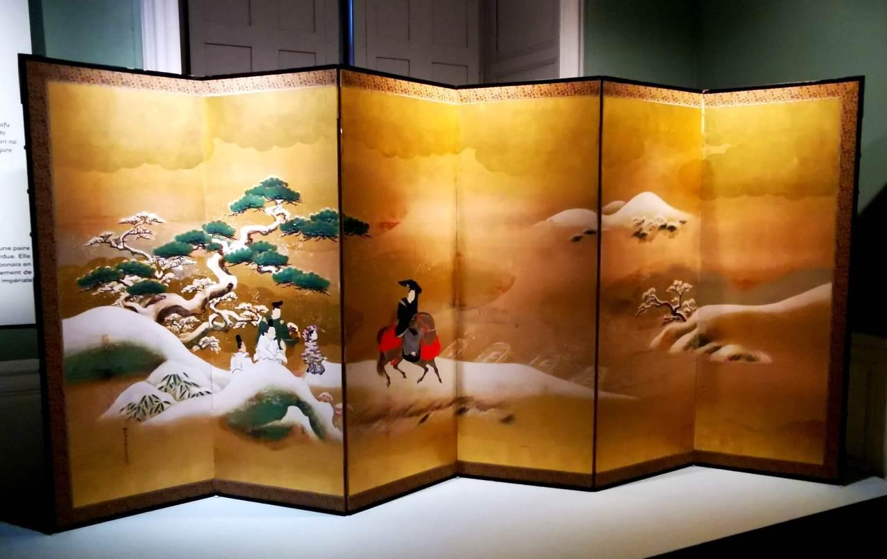 Le shogunat au Château deFontainebleau